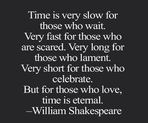quotes, time, and shakespeare image