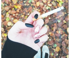 autumn, höst, and nails image