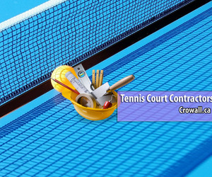 tennis court contractors image