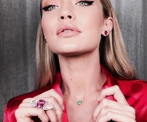 gigi hadid, model, and makeup image
