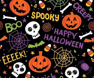 Halloween, boo, and pumpkin image