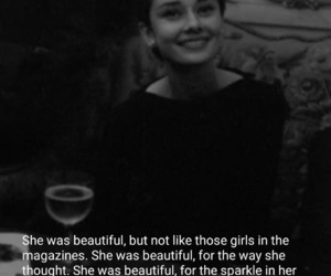 audrey, beautiful, and she image