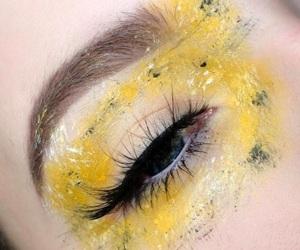 eye makeup, eyeshadow, and makeup art image