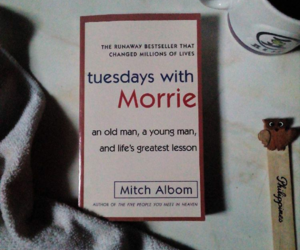 books, inspirational, and mitch albom image