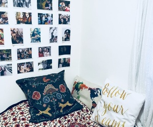 bed, bohemian, and boho image