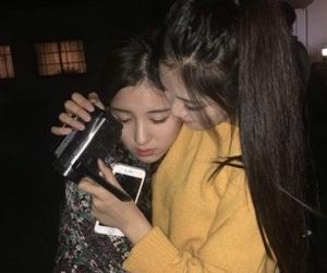 dark, korean style, and friend image