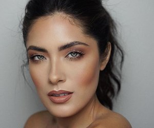 contour, fall, and nude lips image