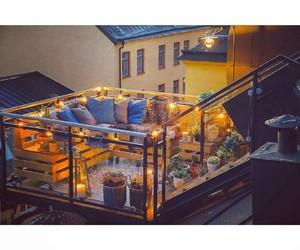 balcony, garden, and home image