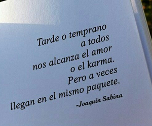 frases, amor, and karma image