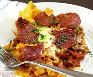 casserole, pizza, and foodgasm image