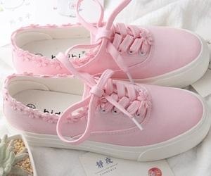 kawaii, pink, and shoes image