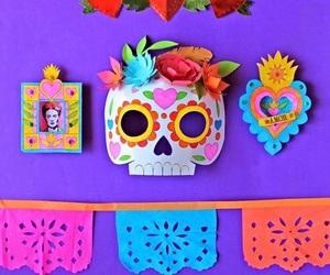 cultura, day of the dead, and decoracion image