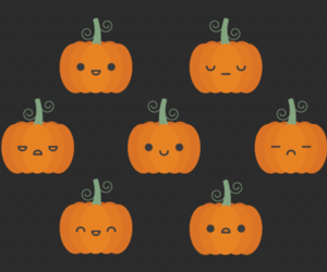 Halloween, pumpkin, and fall image