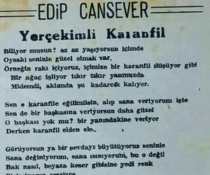 alıntı, edip cansever, and türkçe sözler image