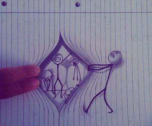 drawing, cool, and funny image