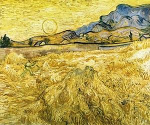 art, van gogh, and yellow image