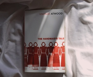 atwood, cover, and books image