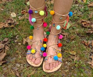 etsy, fashion, and gladiator sandals image