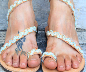 etsy, wedding sandals, and gift for her image