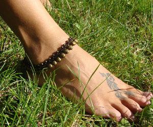 etsy, summer anklet, and bridal anklet image