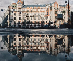building, russia, and st.petersburg image