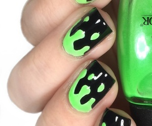 Halloween, nails, and halloween nail art image