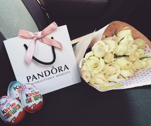 pandora, kinder, and roses image