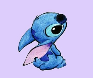 stitch, disney, and blue image