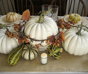 autumn, dining, and fall image