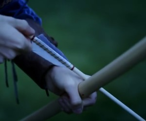 archer, bow, and archery image