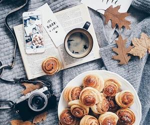 autumn, food, and coffee image