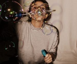 photography, aesthetic, and bubbles image