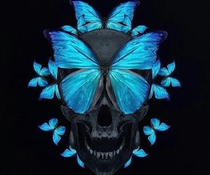black, black and blue, and black background image