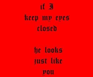 eyes closed, Lyrics, and music image