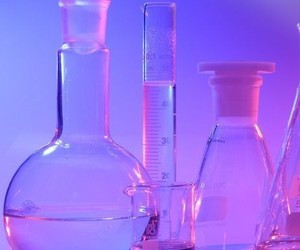 purple, neon, and science image