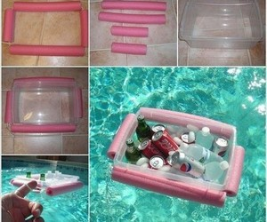 diy, pool, and ideas image