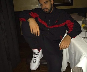 Drake and champagne papi image