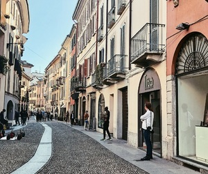 italy, street, and milano image