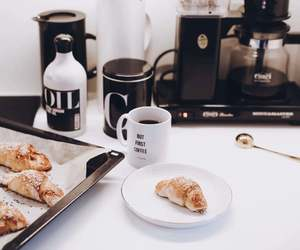 breakfast, interior, and coffee image