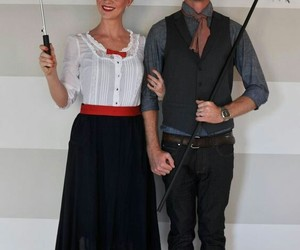 costumes, Halloween, and couple costume image