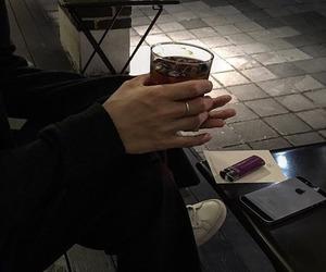 aesthetic, grunge, and cafe image