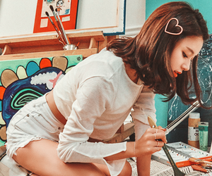 twice, chaeyoung, and son chaeyoung image