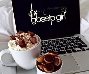 gossip girl, chocolate, and food image