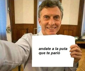argentina, memes, and macri image