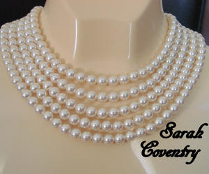 bridal jewelry, multi strand, and designer signed image