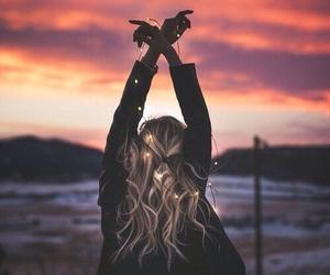 girl, beauty, and freedom image