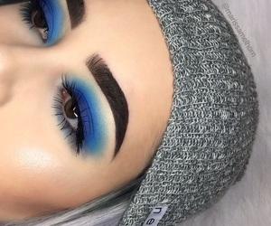 beauty, eyeliner, and concealer image