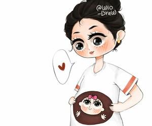 mum and pregnant image