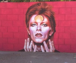 art, celebrity, and david bowie image