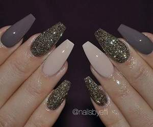 nails, girl, and style image